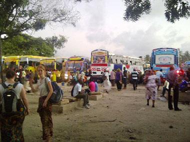 Mit dem Bus nach Iringa