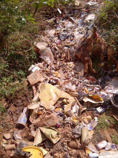 Müll in Dar pori